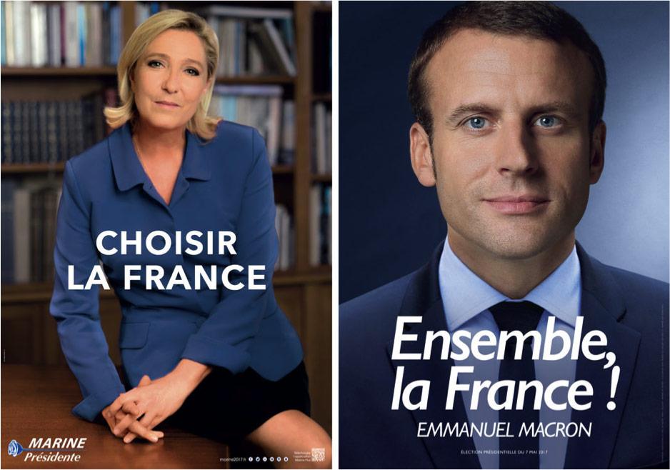 Macron vs Le Pen : la bataille des mots, la guerre des images