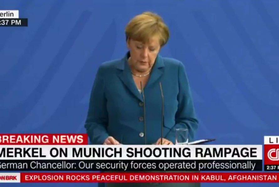 Terreur à Munich: une belle leçon de communication de crise à la classe politique française.